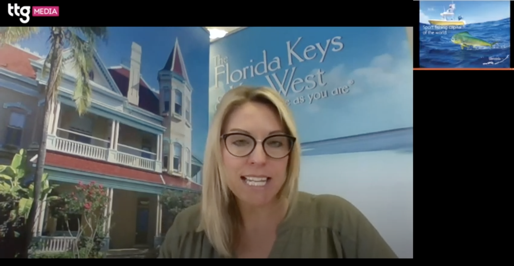 TTG Digital Destinations Festival 2021: Florida Keys & Keys West agent training