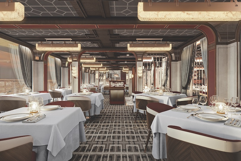 Prime 7 Steakhouse is set to open onboard the vessel