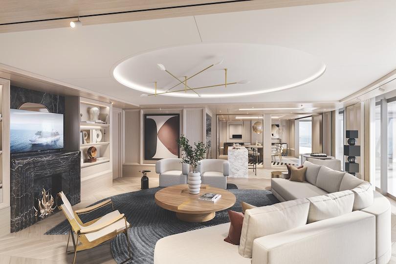 The Regent Suite onboard Grandeur