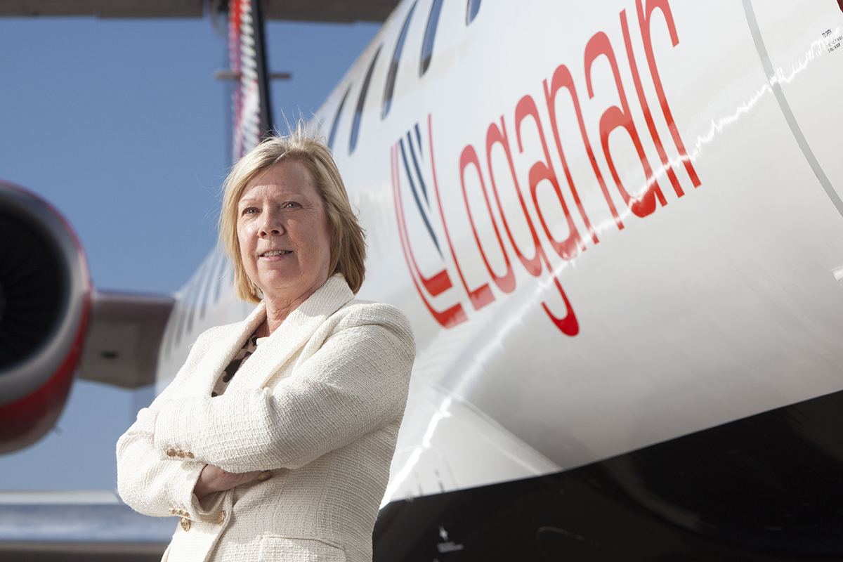 Kay Ryan, Loganair's chief commercial officer