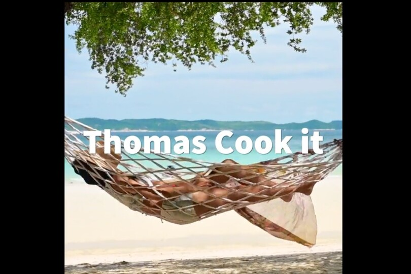 Thomas Cook reveals new slogan and app