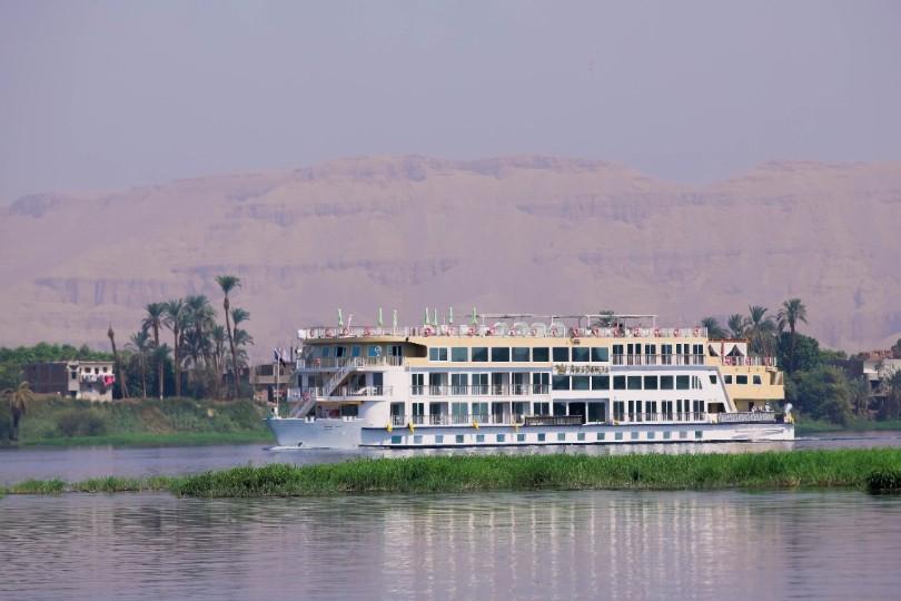 AmaDahlia embarks on inaugural Nile river voyage