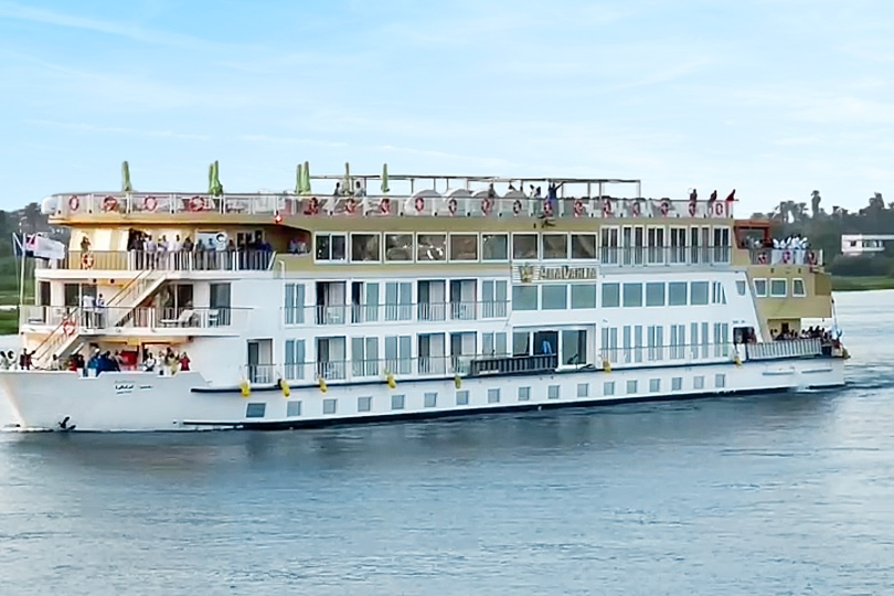 AmaWaterways launches new Nile ship