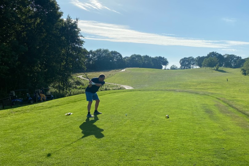Travel industry golfers raise £14k for Just a Drop