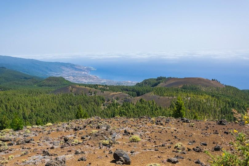 Evacuations under way following volcanic eruption on La Palma