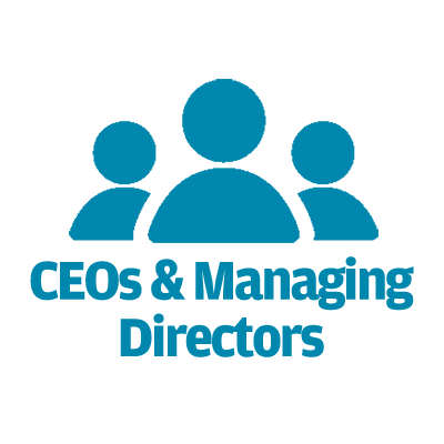Who should attend: CEOs and Managing Directors